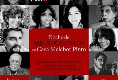 Noche de cuentos en Melchor Pinto