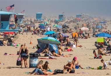 Cerrarán las playas de Los Ángeles en el feriado largo. Foto Internet