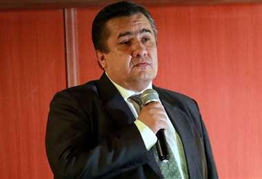 Robert Blanco, vicepresidente de la FBF. Foto: Archivo