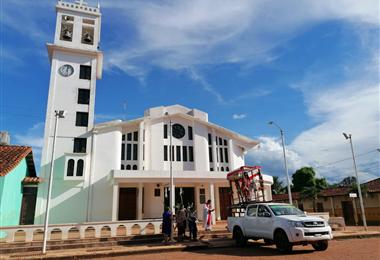 San Ramón está ubicado en la provincia Mamoré, en el departamento de Beni