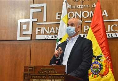 Ministro de Economía, José Luis Parada  Foto: APG