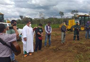 Nuevo cementerio en San Ignacio de Velasco