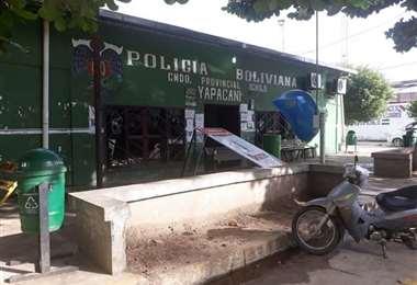 Hace un mes fue desmantelado el comando de Yapacaní. Foto EL DEBER