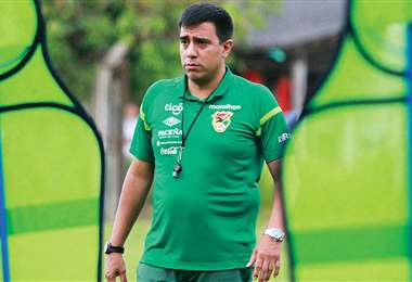 César Farías, entrenador de la selección nacional de fútbol. Foto: internet