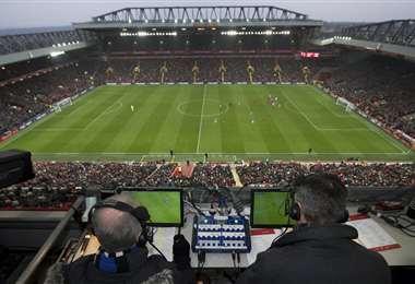 Los estadios de la Premier League están listos para la reanudación del torneo en Inglaterra. Foto: internet