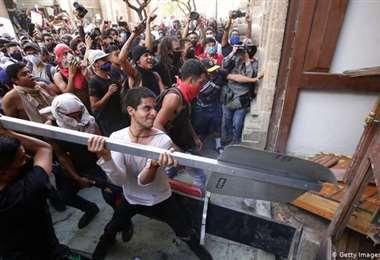 México: disturbios por muerte de joven por no usar mascarilla