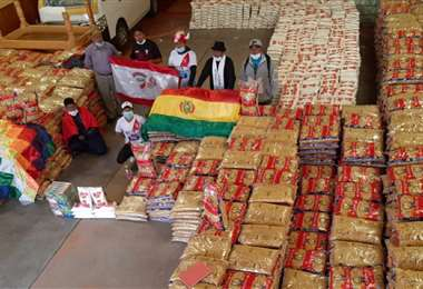 Durante la cuarentena Always Ready ha estado apoyando con alimentos a las familias pobres. Foto: Internet