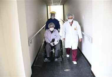 El paciente en el hospital de La Portada I AMN.