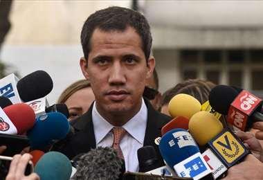 El líder opositor Juan Guaidó. Foto Internet