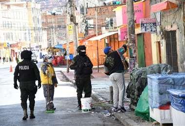 La persona sancionada en La Paz I AMN.