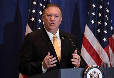 El secretario de Estado de EEUU, Mike Pompeo, afirmó que en los últimos días Pekín mostró un desprecio por la verdad
