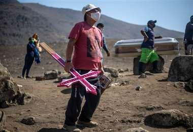 El 'enemigo invisible' está presente en todo el territorio de Perú /Foto: AFP