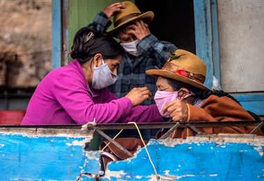 Pandemia por coronavirus en Perú-Foto: AFP
