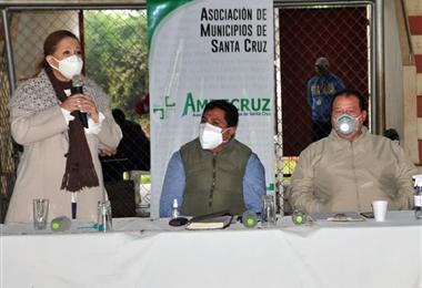 Amdecruz, reunida en San Javier. Foto. Magno Cornelio