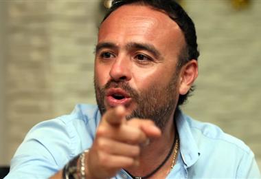 Juan Jordán, presidente del club Blooming. Foto: El Deber