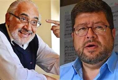 Carlos Mesa y Samuel Doria Medina I archivo.