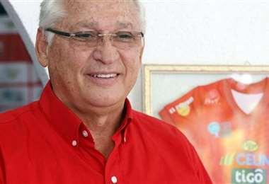 Rafael Paz, presidente del club Guabirá. Foto: El Deber