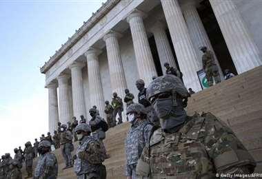 Trump ordenó la retirada de los 3.900 reservistas de la Guardia Nacional