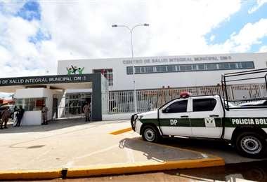 El centro atenderá a policías con sospecha de Covid-19. Foto Alcaldía