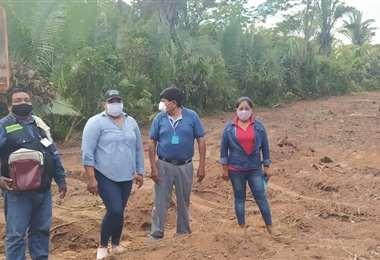 El terreno fue donado al municipio. Foto Desther Agreda