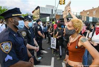 Las protestas continúan en EEUU