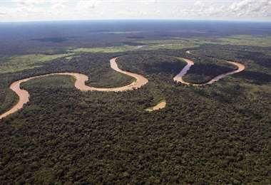 Vista aérea del Tipnis