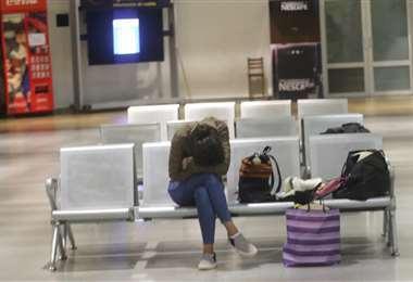 Los vuelos internacionales seguirán suspendidos.