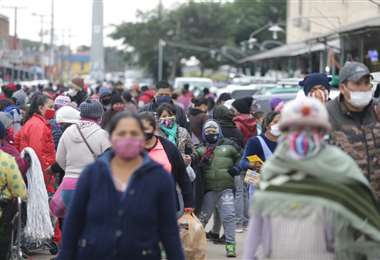Esta semana Santa Cruz ingresó en una nueva cuarentena organizada. Foto: Fuad Landivar