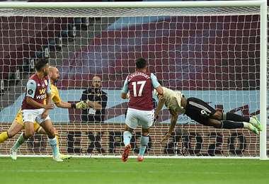 Uno de los partidos de la Premier League. Foto: AFP
