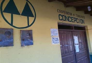 Oficinas cerradas debido a la pandemia. Foto Jorge Huanca