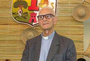 El religioso dedicó su vida a la comunidad religiosa de Montero
