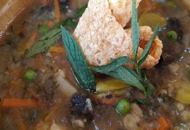 El chairo es uno de los platos tradicionales de la cocina paceña
