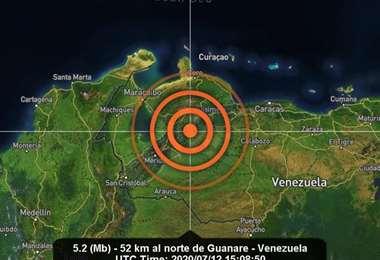 El temblor se sintió en varios estados. Foto Internet