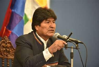 El expresidente Evo Morales sigue presente en las redes sociales.
