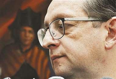 El ministro de Economía, Óscar Ortiz.