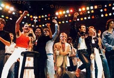 Live Aid reunió a 76 solistas y bandas reconocidos en todo el mundo