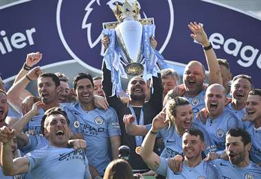 El Manchester City podrá disputar la próxima Liga de Campeones. Foto: AFP