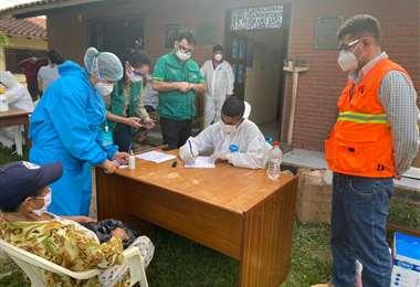 Brigadas médicas del COED atienden en provincias