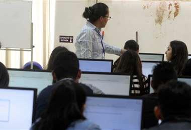 Los beneficiarios podrán comenzar sus estudios en 2021. Foto: EL DEBER