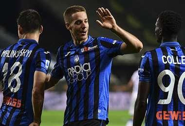 Mario Pasalic marcó tres goles. Foto: AFP