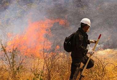 En 2019, en el departamento cruceño fue azotado por los incendios. Foto: Ipa Ibañez