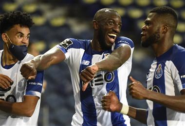 Marega anotó el 2-0 definitivo para el Oporto