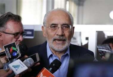 El candidato Carlos Mesa. Foto: ABI.