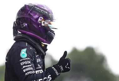 Hamilton largará en punta hoy en Hungría
