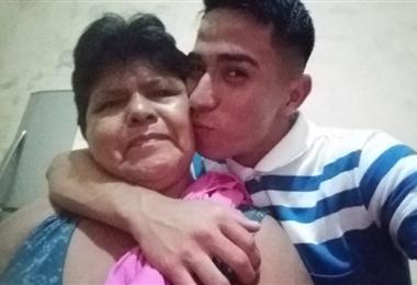 Maicol Gil tiene en su abuela un gran apoyo