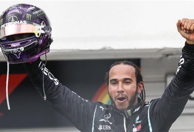 Hamilton confirmó que es firme candidato al título de la F1