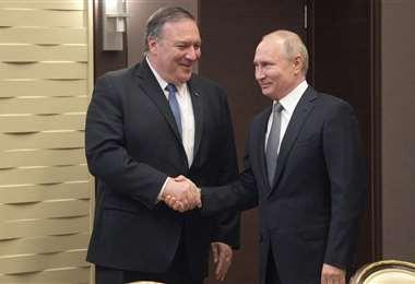 Pompeo no descarta invitar a Putin al G7