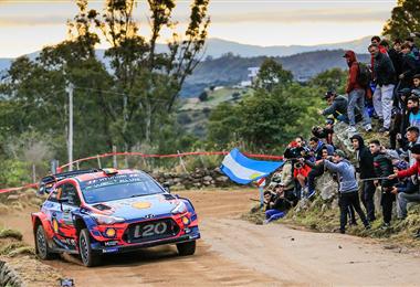 Este año la fiesta del Rally Mundial no llegará a Argentina