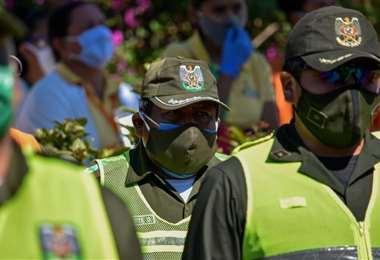 En Santa Cruz es donde más policías han fallecido /Foto: Jorge Gutiérrez