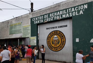 Cárcel de Palmasola en Santa Cruz. Foto. Internet
